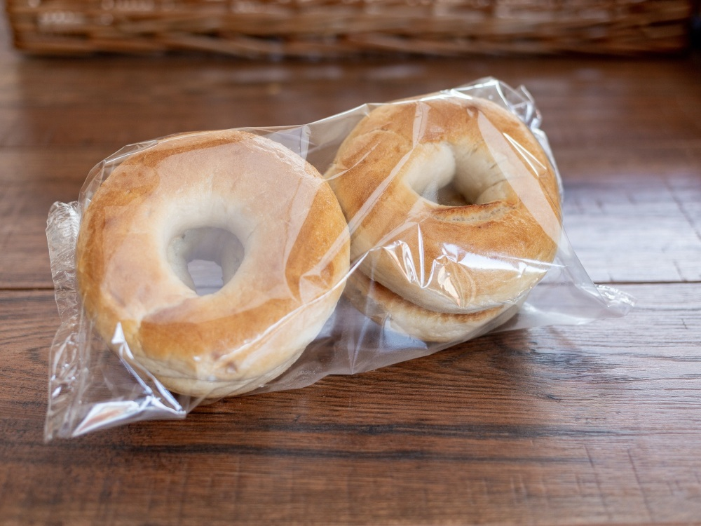 PREMIER PLAIN WHITE BAGELS (PACKED IN 4's)