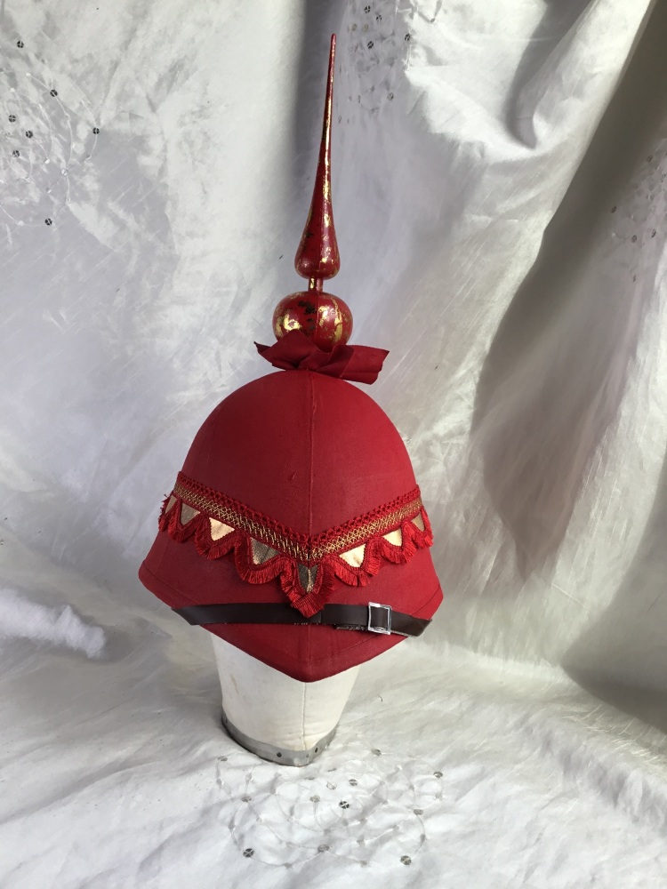 The Red Emperor Pith Helmet