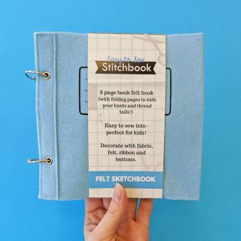 Easy to Sew Stitchbook Blue