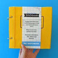 Easy to Sew Stitchbook Yellow