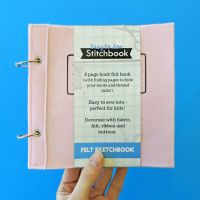 Easy to Sew Stitchbook Pink