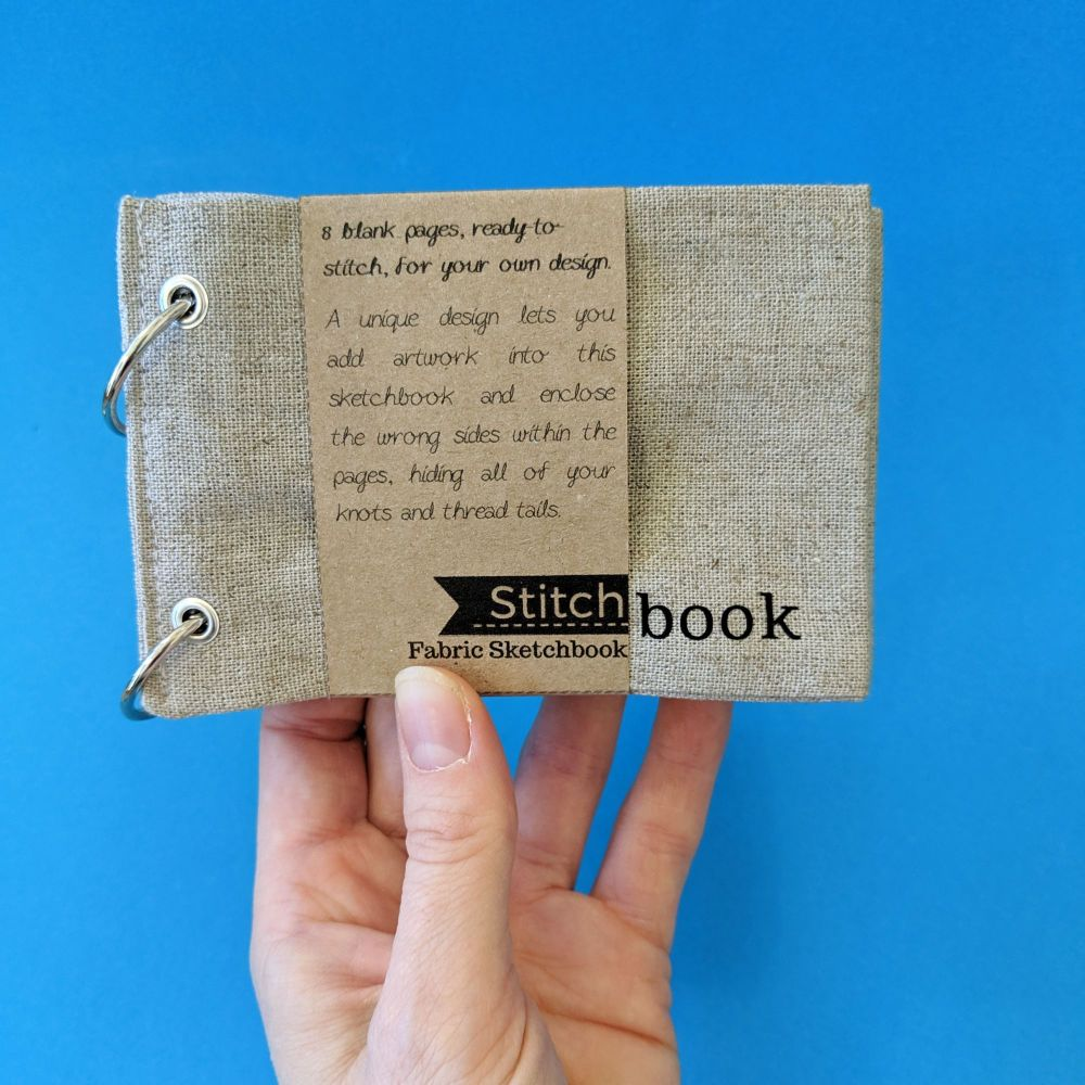 Mini Linen Stitchbook