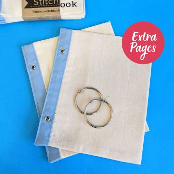 Extra pages for Cotton and Blueberry Stitchbook