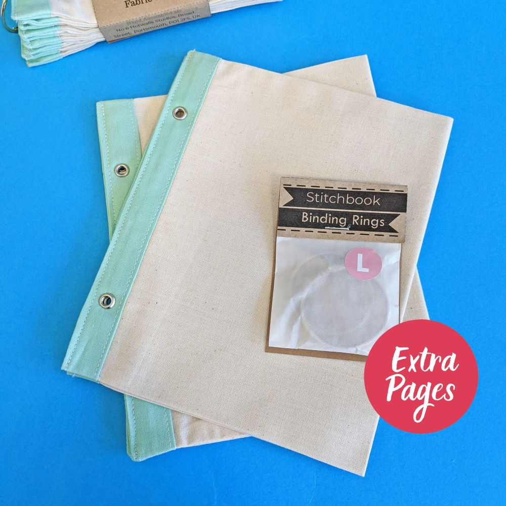 Extra pages for Cotton and Mint Stitchbook