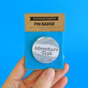 Pin Badge - Adventure Club