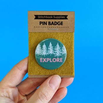 Pin Badge - Explore