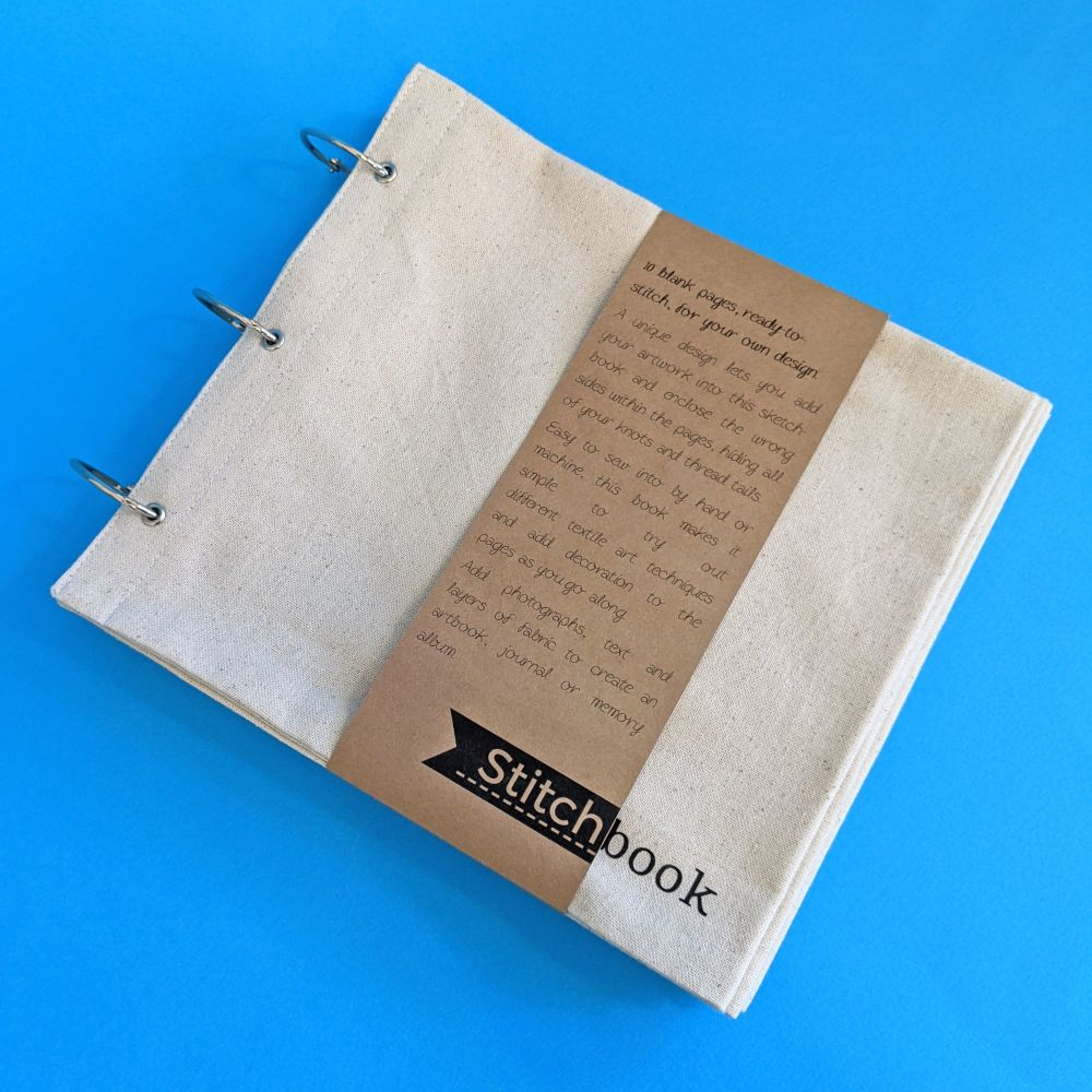 Large Cotton Stitchbook - 12 blank pages