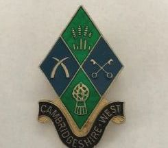 Cambs West county brooch
