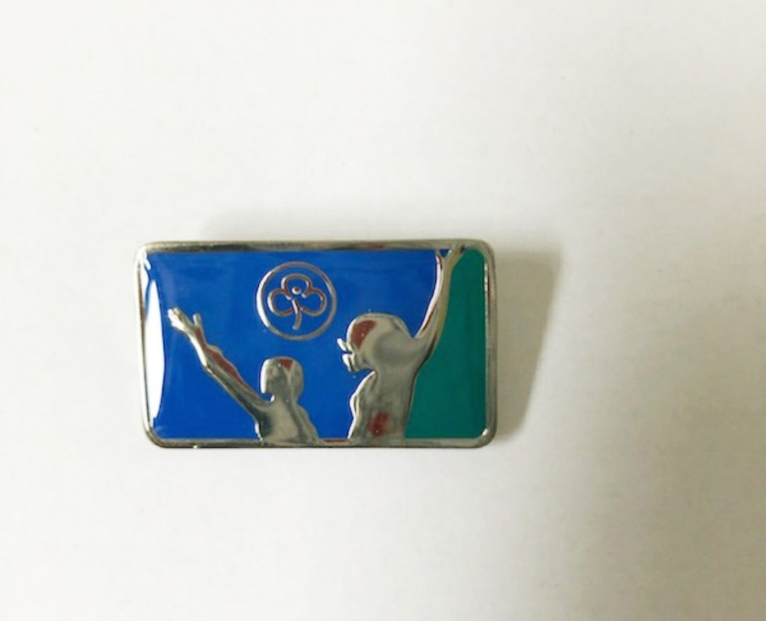 Leaving Guides pin badge