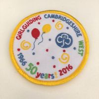 Cambs West 50th Birthday badge