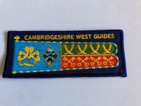 Cambs West County Standard badge