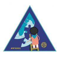 World Thinking Day badge, 2021