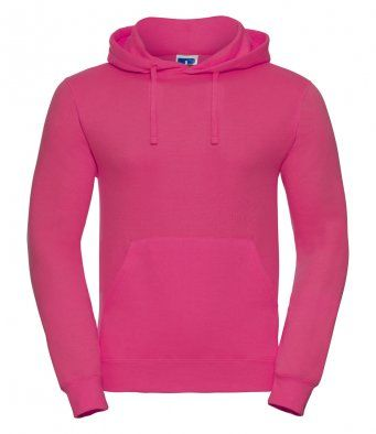 Fucshia over the head hooded sweatshirt