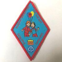 Rainbow 30th birthday event badge