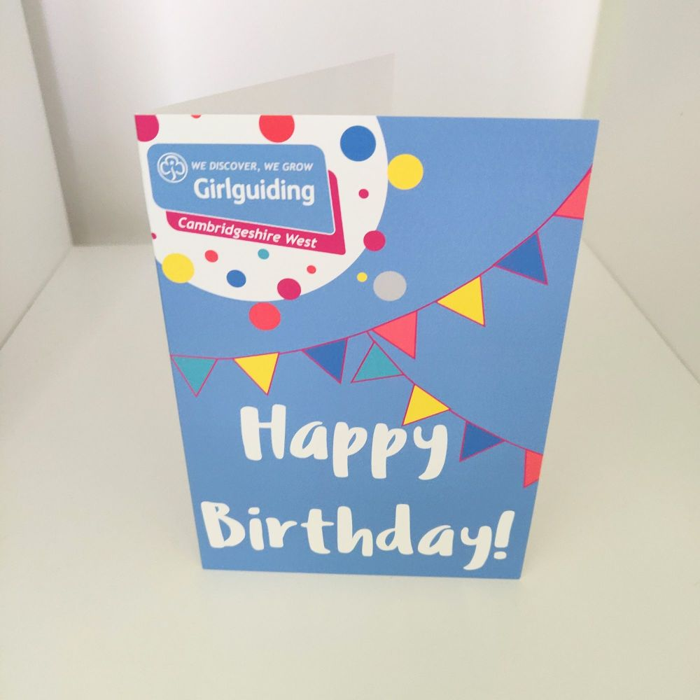 Happy Birthday cards - pack of 5