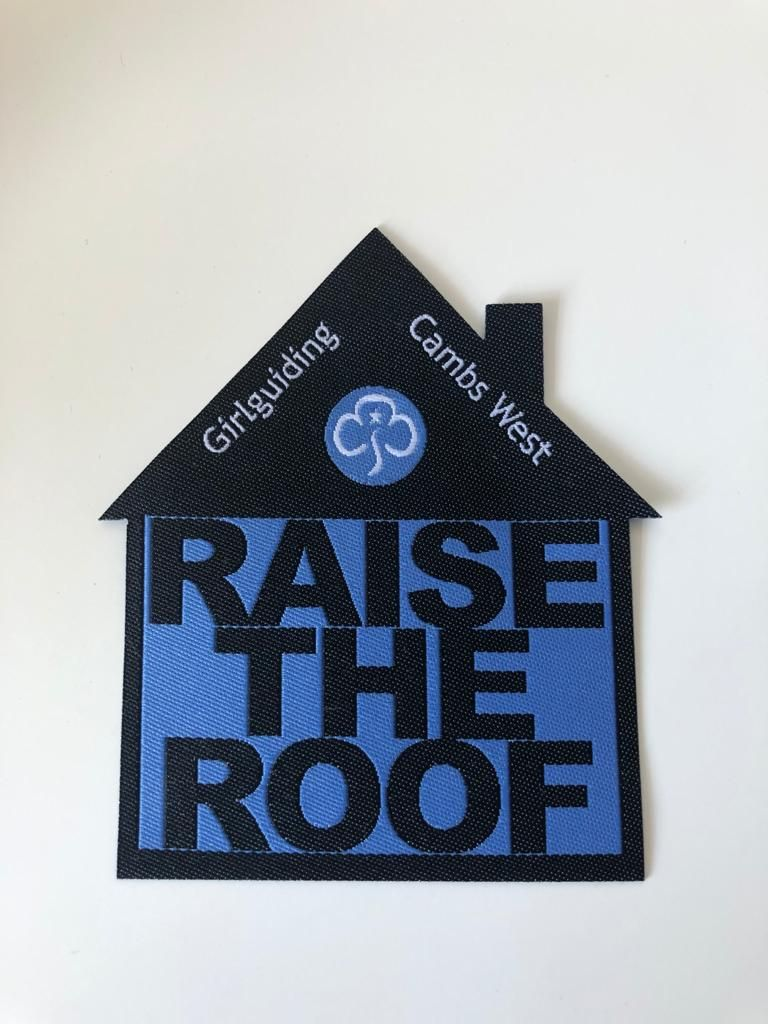 Raise the Roof - Cambs West HQ fundraiser badge