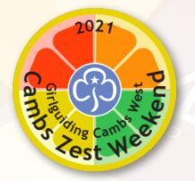 Cambs Zest badge!
