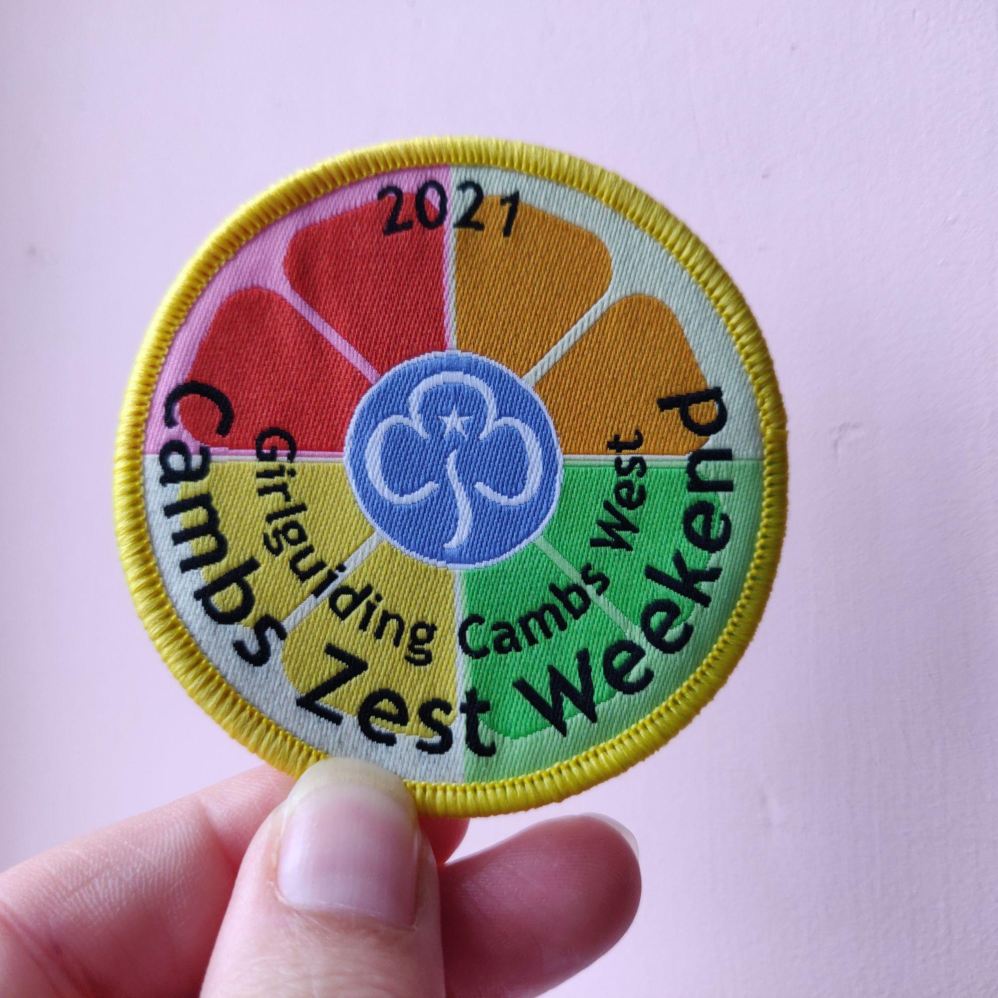 Cambs Zest badge