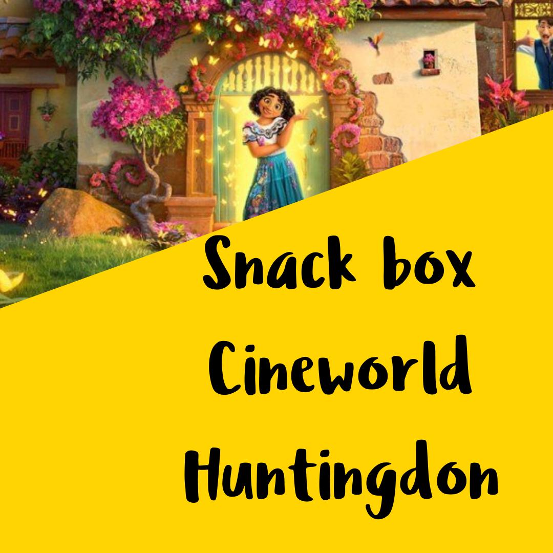 Cineworld snack box