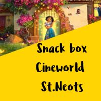 Cineworld St.Neots snack box