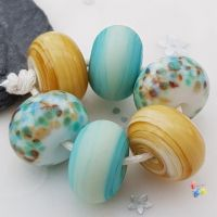 Sansend Trio Lampwork Beads