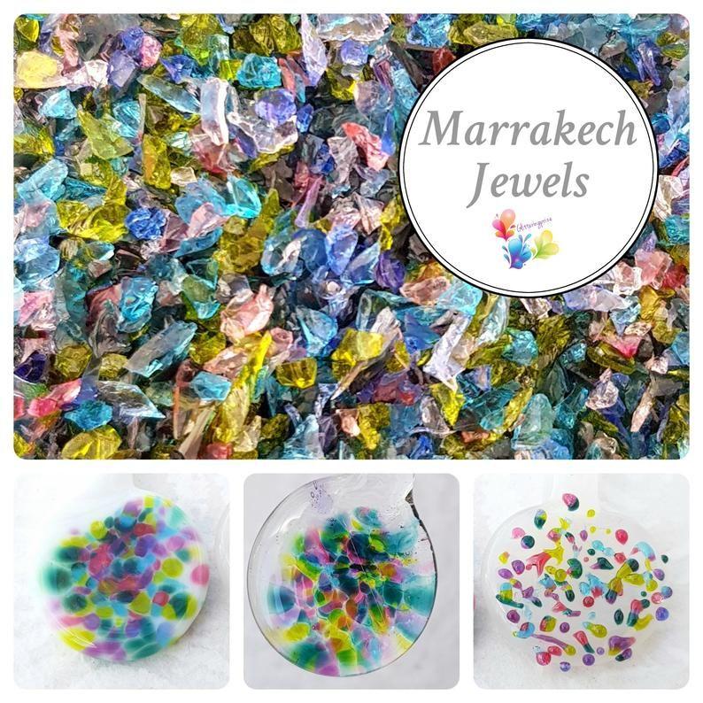 Marrakech Jewels  Fine Grind Frit Blend