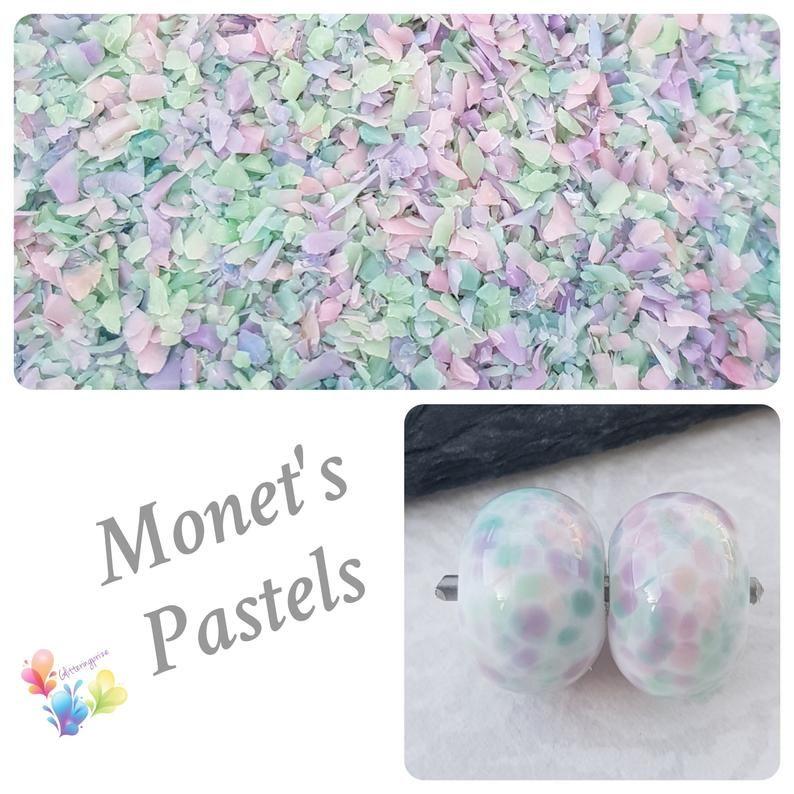 Monet's Pastels  Fine Grind Frit Blend