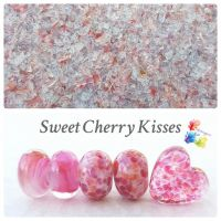 Sweet Cherry Kisses Fine Grind Frit Blend