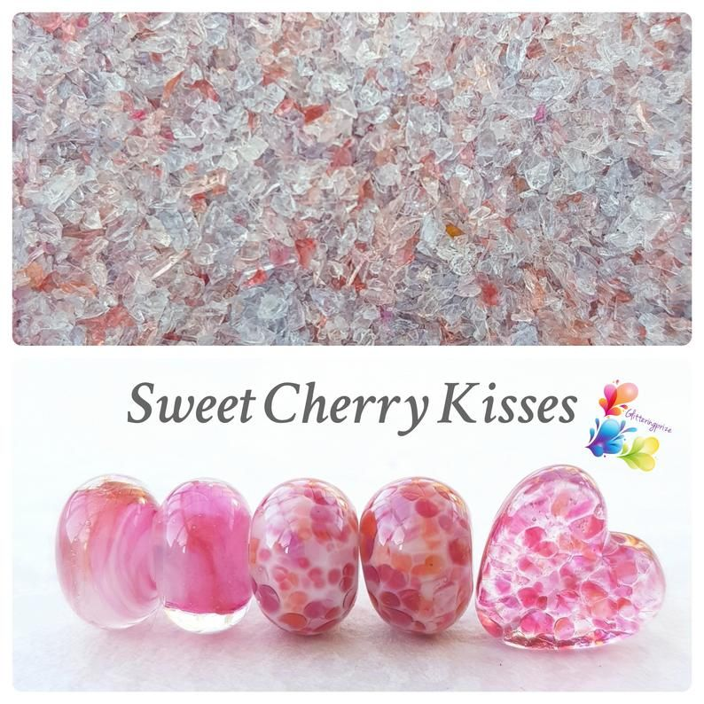 Sweet Cherry Kisses Fine Grind Frit Blend