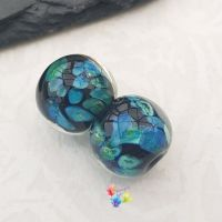 Flora's Oracle Lampwork Bead Pair