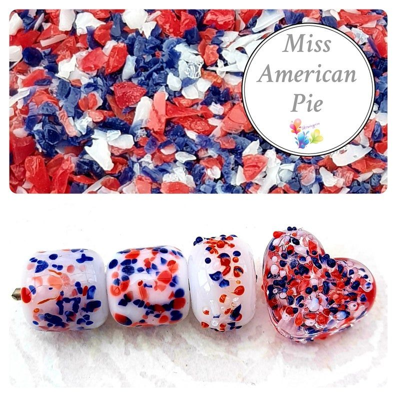 Miss American Pie Fine Grind Frit Blend
