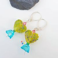 Caribbean Sweetheart Earrings Sterling Silver