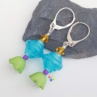 Calypso Party Earrings Sterling Silver
