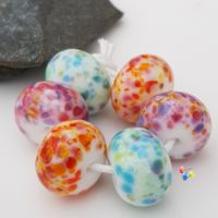 Bright Fritties Lampwork Beads