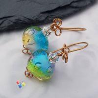Rainbow Bubble Earrings