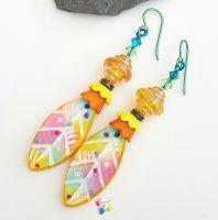 Carnival Niobium Earrings (Hypo-Allergenic)