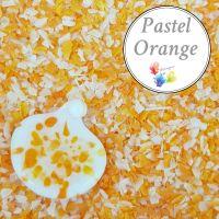 Pastel Orange  Fine Grind Frit Blend