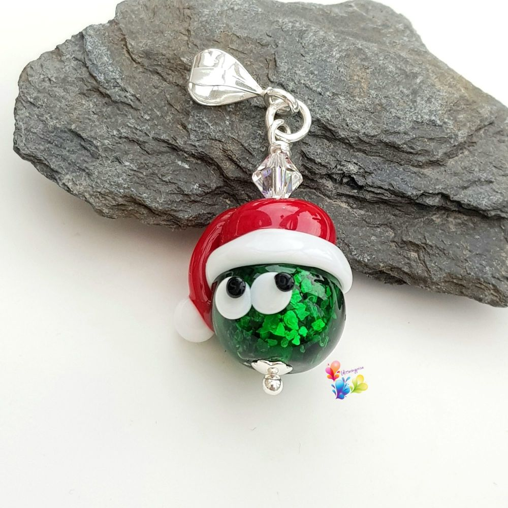 Sparkling Stanley Sprout Sterling Silver Pendant