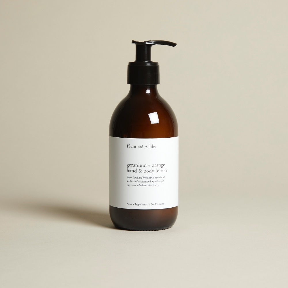 Geranium & Orange Hand & Body Lotion
