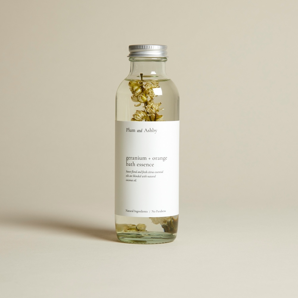 Geranium & Orange Bath Essence