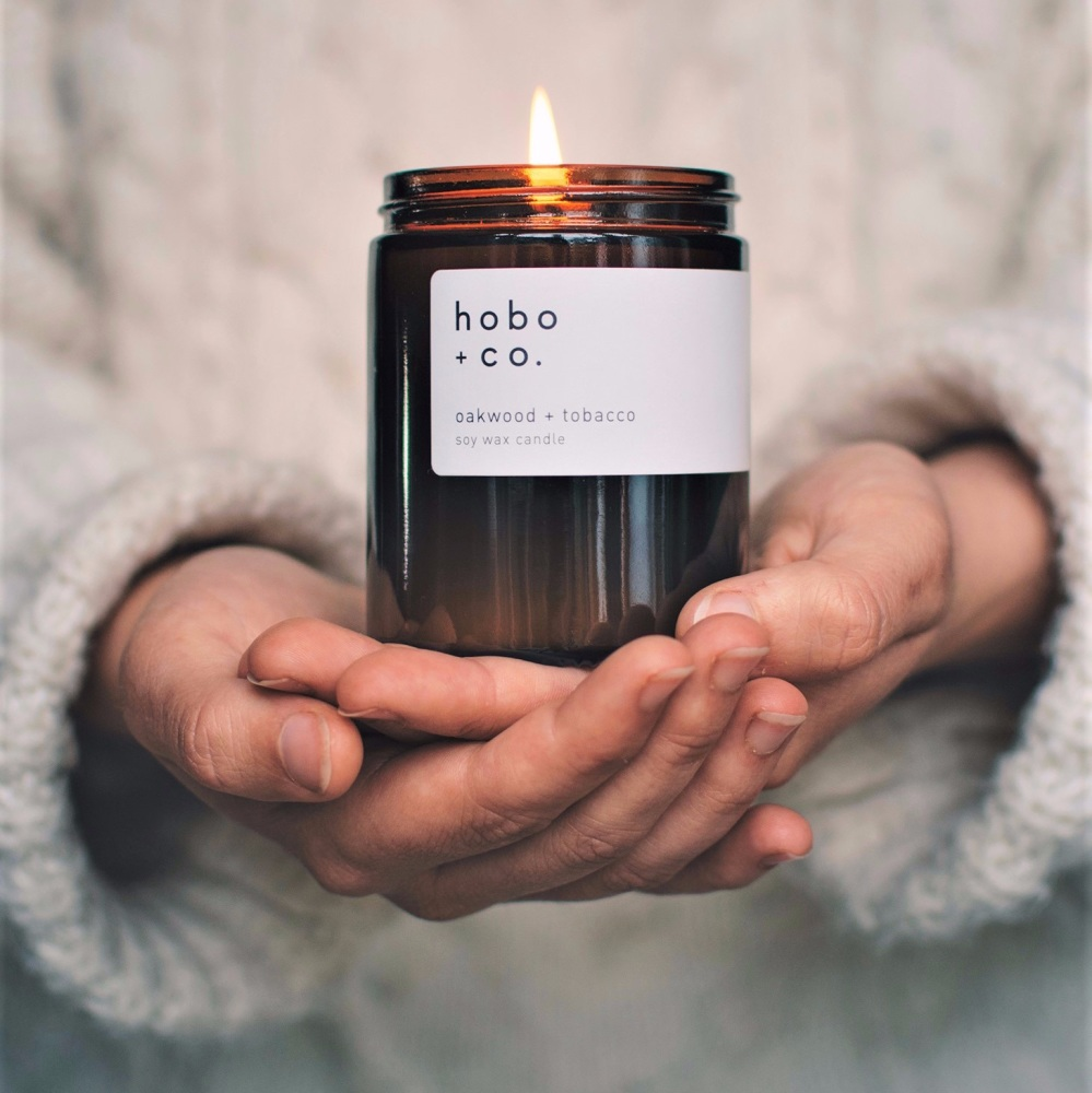 Oakwood & Tobacco Candle