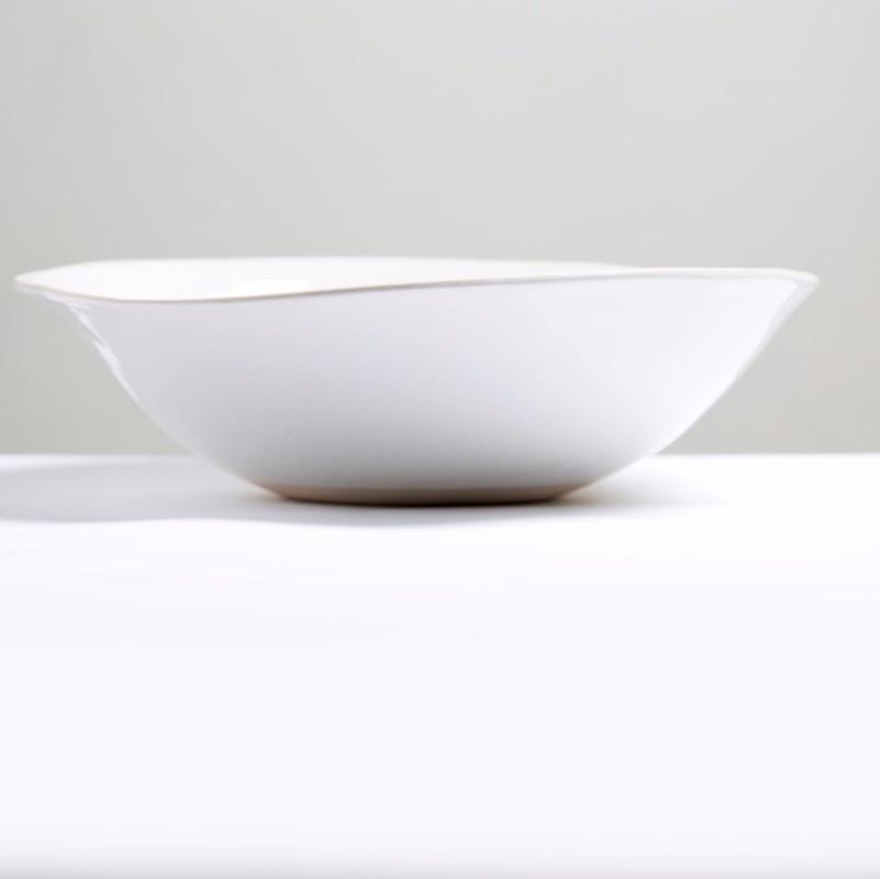 Salad Bowl M Plain Wash White