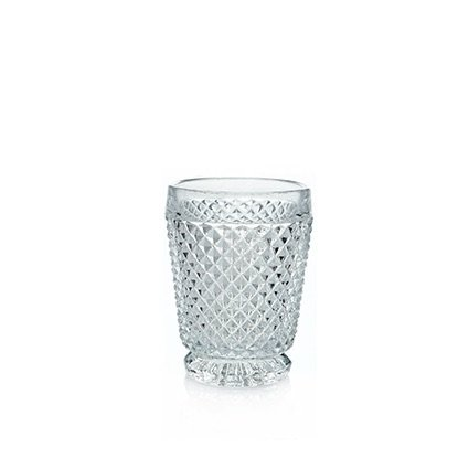 Diamond Water Glass Tumbler Clear