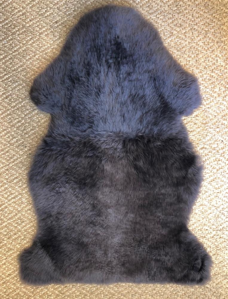 Sheepskin Charcoal Single