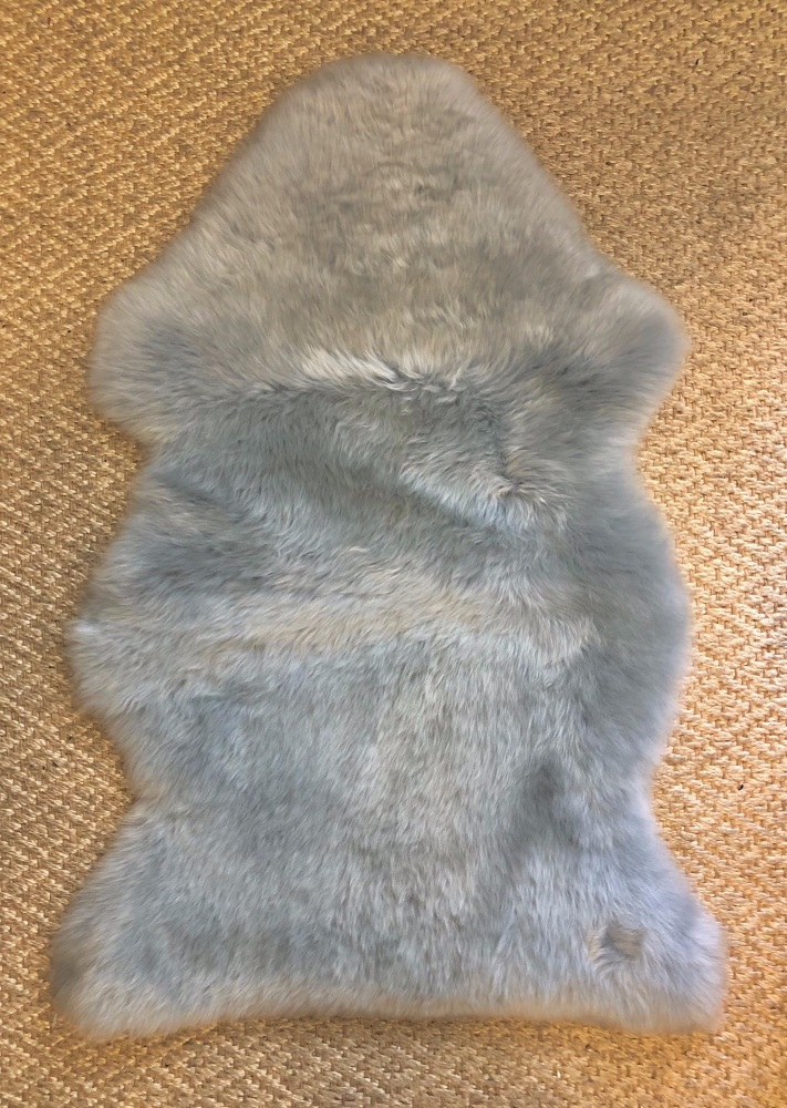 Sheepskin Single Grey