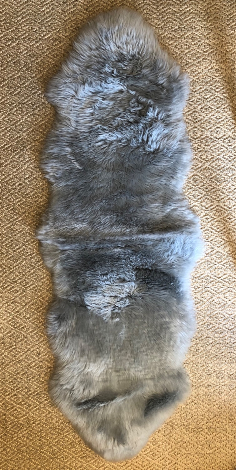 Sheepskin Double Grey