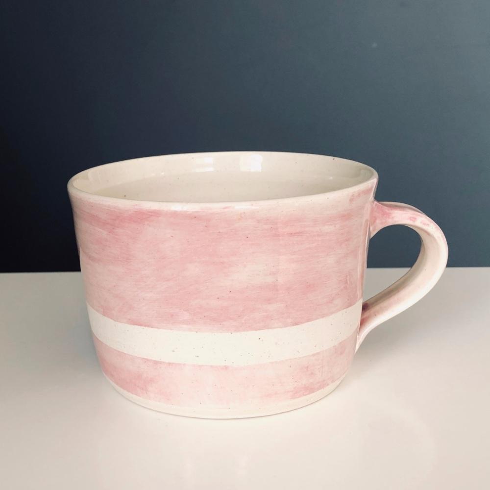 WW Mug Squat Wax Line Pink