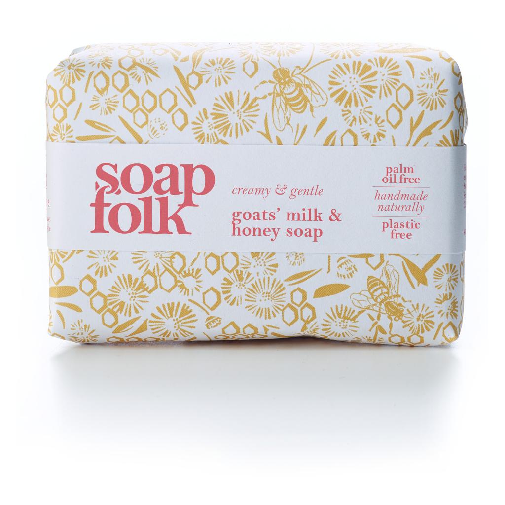 Soap Folk Goat's Milk & Honey Soap
