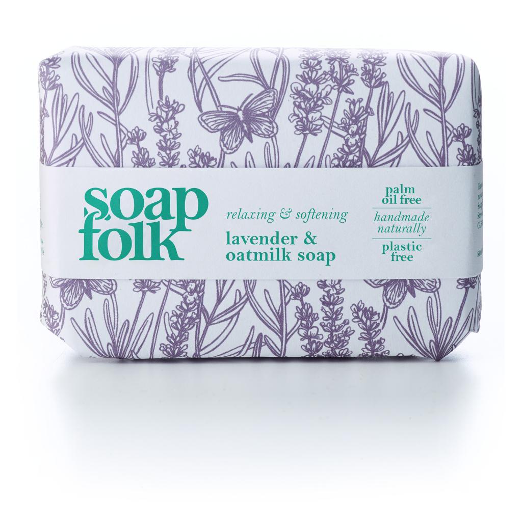 Soap Folk Lavender & Oatmilk Soap