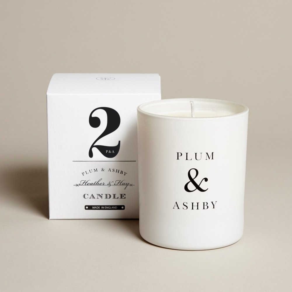 Plum  & Ashby Heather and Hay Candle